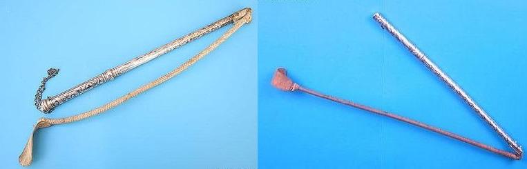Две нагайки из одной трости